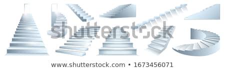 Podium vector cartoon illustratie vloer Stockfoto © RAStudio