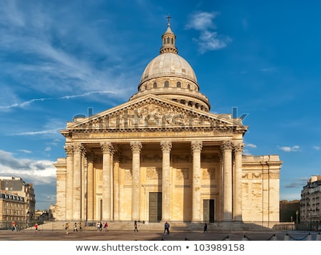 Paris Pantheon columns Stock photo © 5xinc
