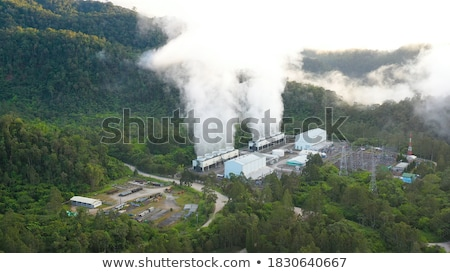 Environment near thermal station Stock photo © Pozn