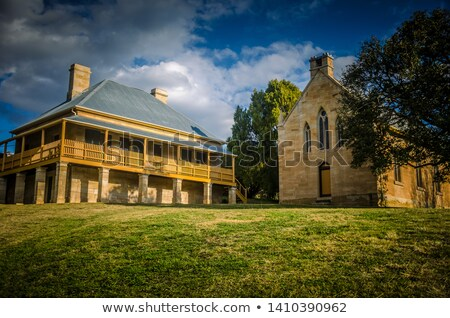 Historic Building, Hartley, NSW, Australia Stock photo © smartin69