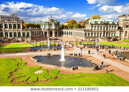 Drezno Niemcy wygaśnięcia miasta ogród sztuki Zdjęcia stock © lunamarina