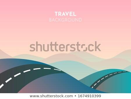 road through mountains stock photo © givaga