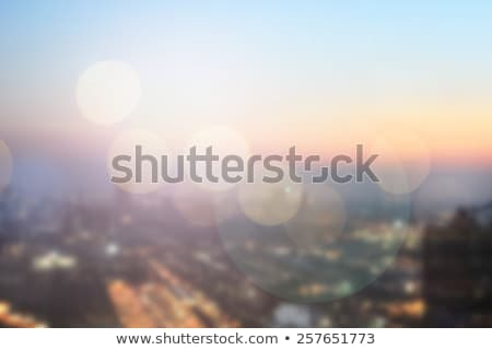 Urban city lens blur background Stock photo © joyr