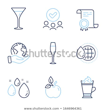 Drink Types Winery Refreshing Champagne Burgundy Stock photo © robuart