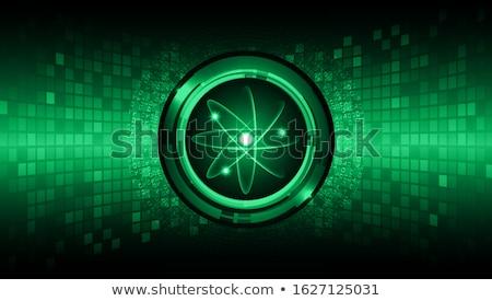 зеленый · технологий · частица · структуры · генетический · химического - Сток-фото © blaskorizov