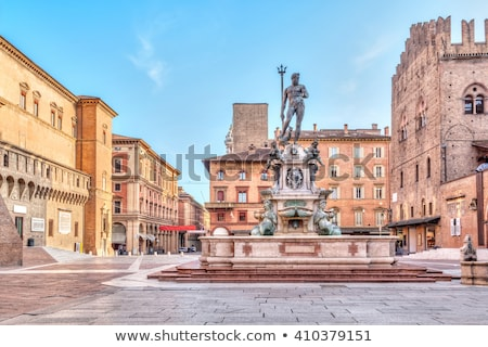 Fountain of Neptune, Bologna Stock photo © boggy