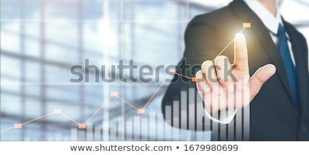 Online działalności wzrost postęp ceny Zdjęcia stock © robuart
