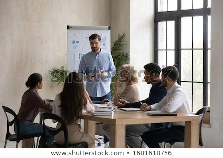 会議 ビジネスチーム 会議 現在 投資家 執行 ストックフォト © snowing