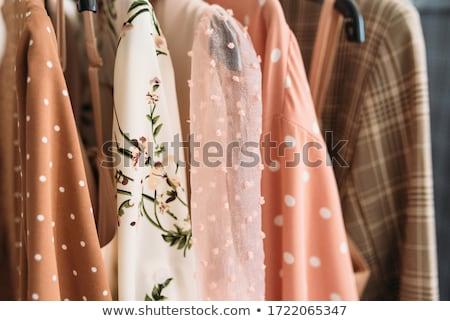 Kolor showroom zestaw kobieta przypadkowy ubrania Zdjęcia stock © netkov1