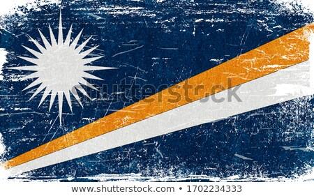 Grunge vlag eilanden vector Stockfoto © nazlisart