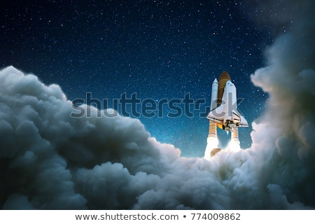 raket · foto · ruimte · stijl · business - stockfoto © bluering