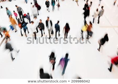 Metro interior personas tren escalera estación Foto stock © jossdiim