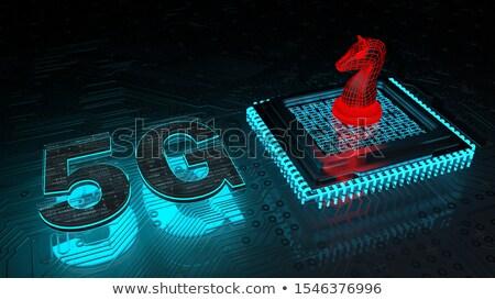 Hardware Encryption D-Lock Processor Trojans Stock photo © limbi007