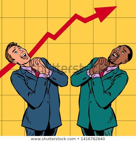 üzletember · eltemetett · pénz · vagyon · pénzügyi · siker - stock fotó © studiostoks