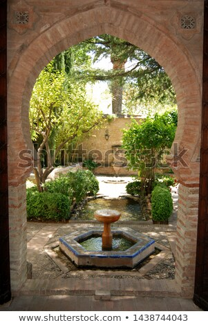 ストックフォト: 宮殿 · も · パティオ · 建物 · 風景 · 旅行
