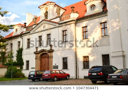 Basilica in the Strahov Monastery, Prague Stock photo © borisb17