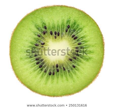 Vers kiwi witte plakje voedsel Stockfoto © lichtmeister