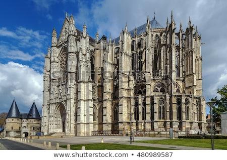 beauvais cathedral france stock photo © borisb17