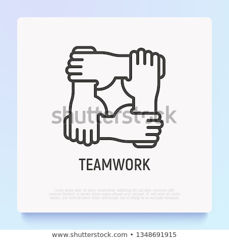 Hand Wrist Support Illustration Stock photo © lenm