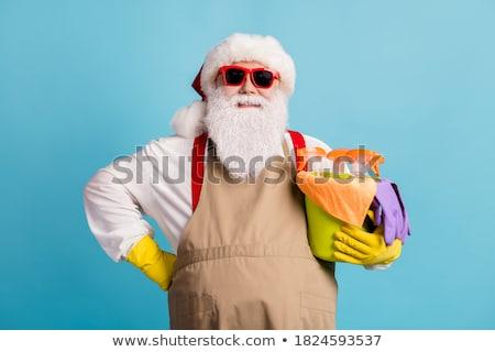 サンタクロース セット サンタクロース ハウスキーピング 洗浄 ストックフォト © toyotoyo