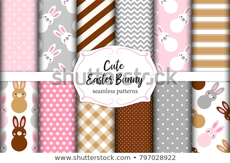 Cartoon cute doodles hand drawn Handmade seamless pattern Stock photo © balabolka