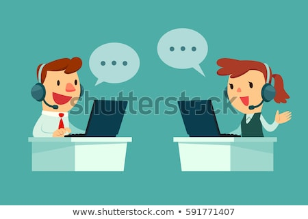 Customer support vector concept metaphors. Stock photo © RAStudio