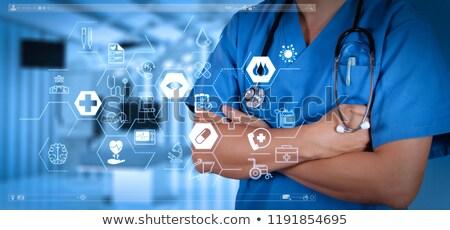 Mondial santé capsule pilules industrie pharmaceutique santé Photo stock © grafvision