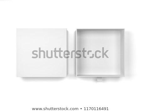 выдвижной ящик тип окна 3d иллюстрации изолированный Сток-фото © montego