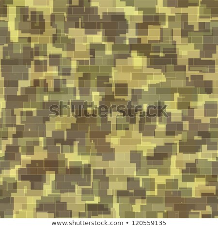 Green military camouflage to disguise in the forest, detailed background Stock photo © evgeny89