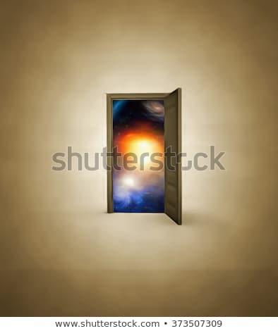 espace · résumé · ceinture · ciel · de · la · nuit - photo stock © swatchandsoda