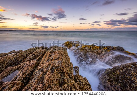 Wave breaker on beach Stock photo © dmitry_rukhlenko
