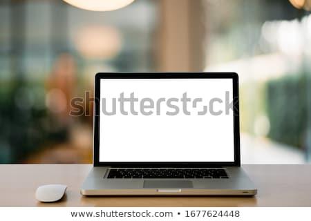 Laptop összes effektek gradiens háló átlátszó Stock fotó © pkdinkar