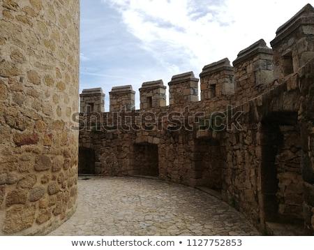 Old Castle Manzanares el Real near Madrid, Spain Stock photo © Nobilior