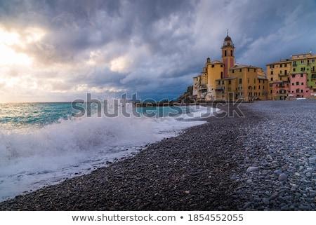 Церкви пляж известный Средиземное море Сток-фото © Antonio-S