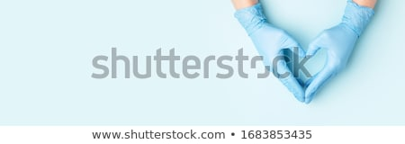 手 医師 無菌の 手袋 手 薬 ストックフォト © g215