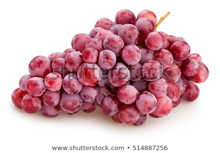 Single bunch of pink grape Stock photo © boroda
