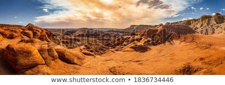 岩石層 峡谷 公園 ユタ州 米国 自然 ストックフォト © mdfiles