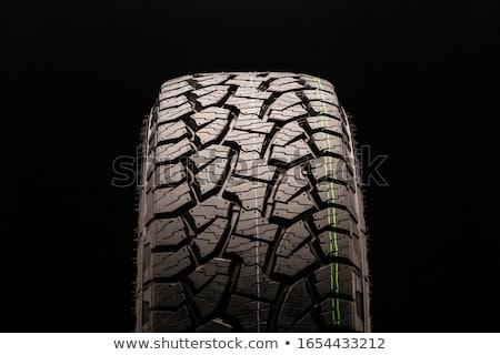 Részletes kilátás jármű terep nehéz autógumik Stock fotó © frank11