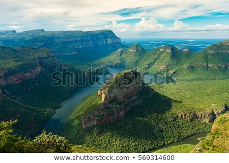 blyde river canyon stock photo © vividrange