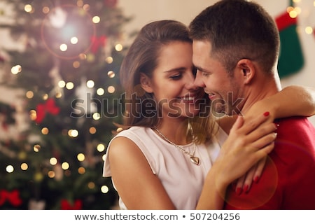 Portrait of a young couple at Christmas Stock photo © photography33