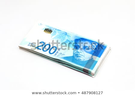 Isolated 200 Israeli Shekels Bill Stock photo © eldadcarin