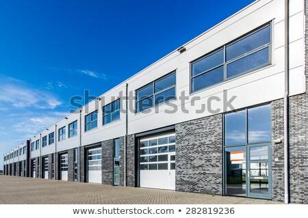 Endüstriyel birim stok Bina Metal Stok fotoğraf © fxegs