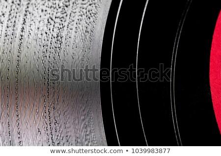 Detailed vinyl LP close up background Stock photo © pxhidalgo