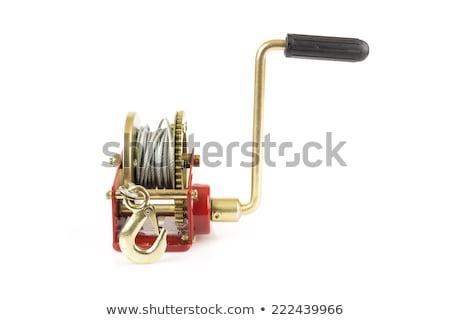 Hand lever winch  Stock photo © michaklootwijk