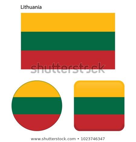 Литва флаг кнопки черный клавиатура Сток-фото © tashatuvango