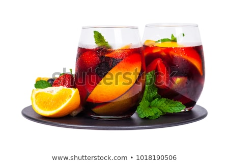 fruit sangria, punch Stock photo © M-studio