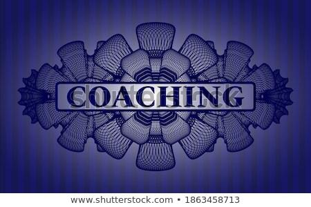 Mentoring on Dark Digital Background. Stock photo © tashatuvango