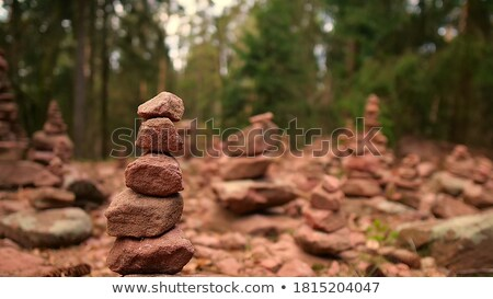 Bokeh arenisca rocas valle fuego Foto stock © emattil