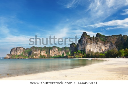 Thailand wild beach Stock photo © smithore