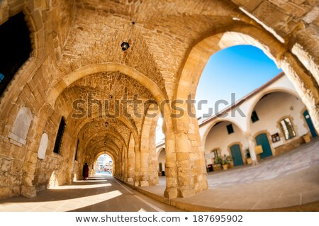 Arcs of Ayious Lazarus Church, Larnaca, Cyprus Stock photo © Kirill_M